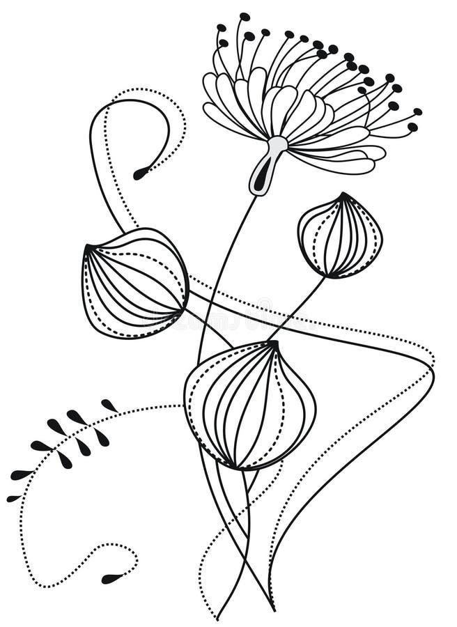 состав флористический бесплатная иллюстрация