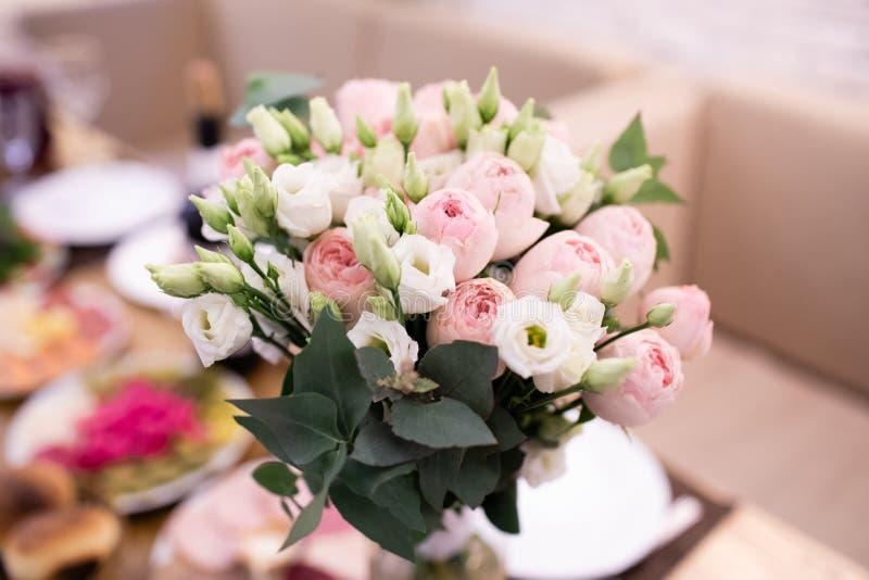 Состав цветка свадьбы, украшение цветка свадьбы стоковое фото