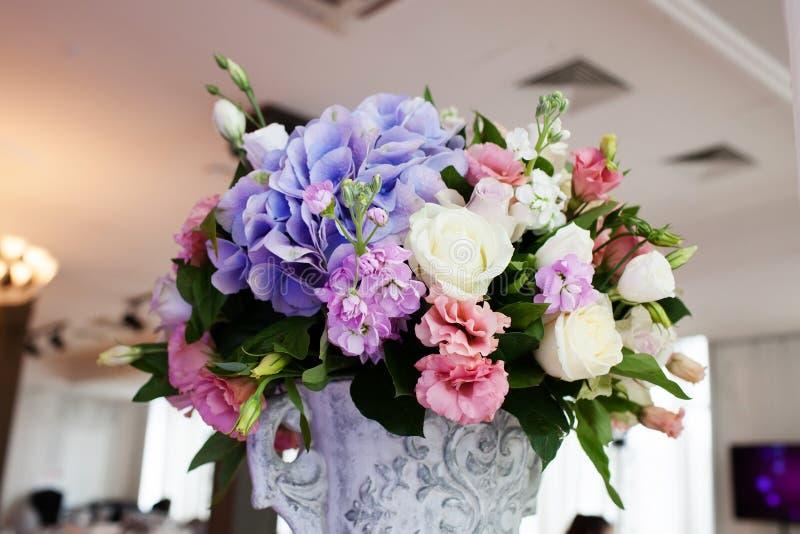 Состав цветка свадьбы стоковая фотография