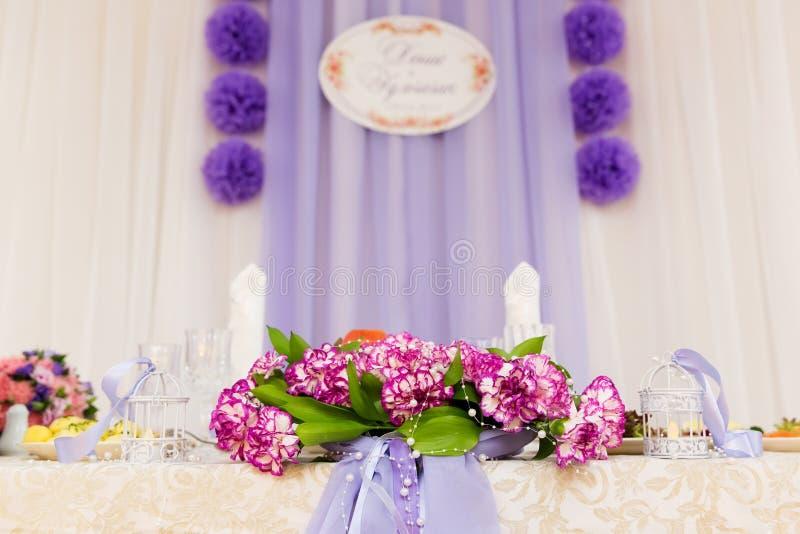 Состав цветка свадьбы стоковое фото