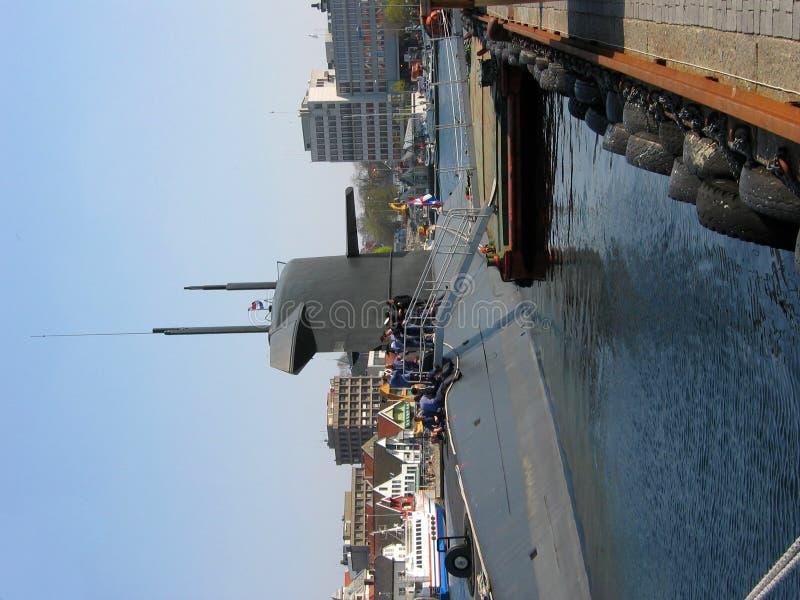 состыкованная подводная лодка стоковые фотографии rf