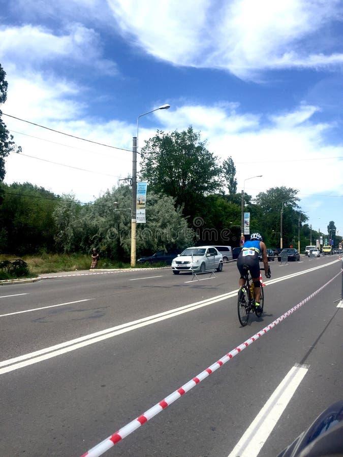 Состязание лавы фестиваля велосипеда Mamaia стоковая фотография