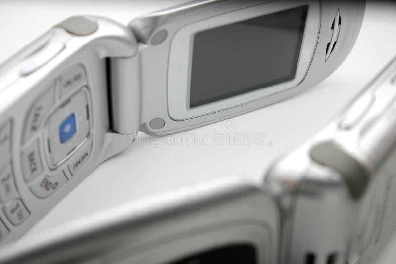 сотовые телефоны стоковое изображение