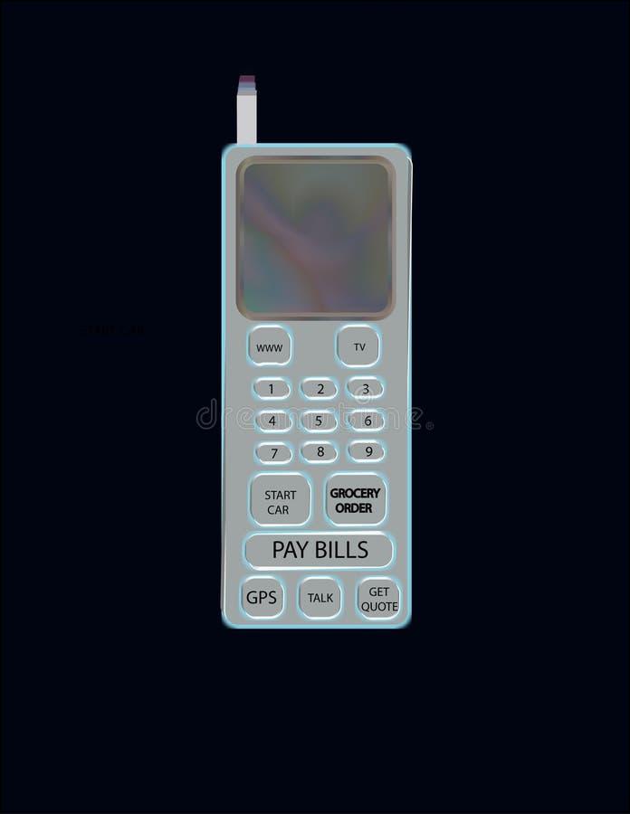 Download сотовый телефон иллюстрация штока. иллюстрации насчитывающей передвижно - 487989