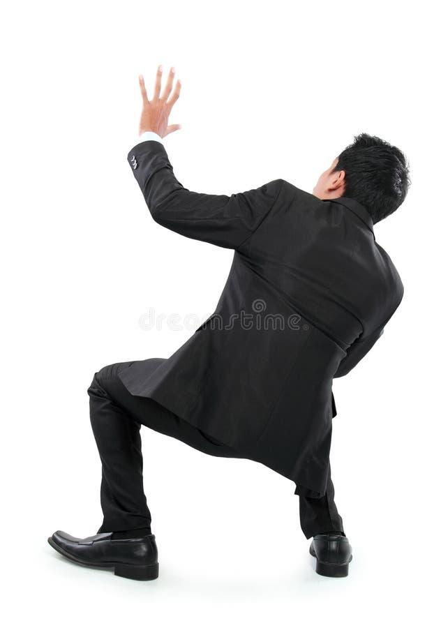 Download Сотрясенный молодой бизнесмен не смотря на камеру Стоковое Изображение - изображение насчитывающей черный, adulteration: 37927111