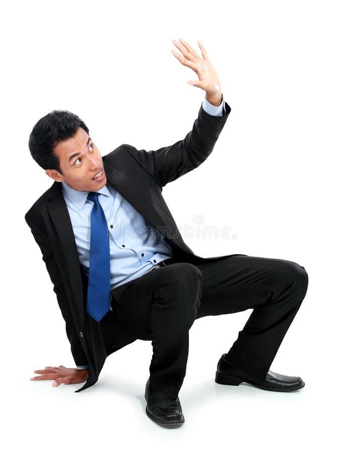 Download Сотрясенный молодой бизнесмен Стоковое Изображение - изображение насчитывающей тревоженая, ванта: 37927109
