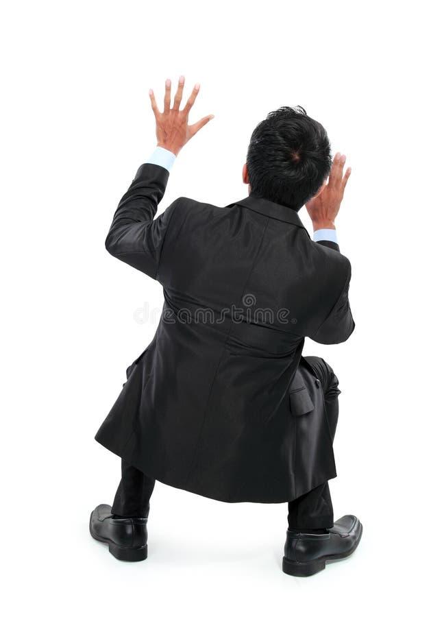 Download Сотрясенный молодой бизнесмен Стоковое Фото - изображение насчитывающей головка, тревоженая: 37927112