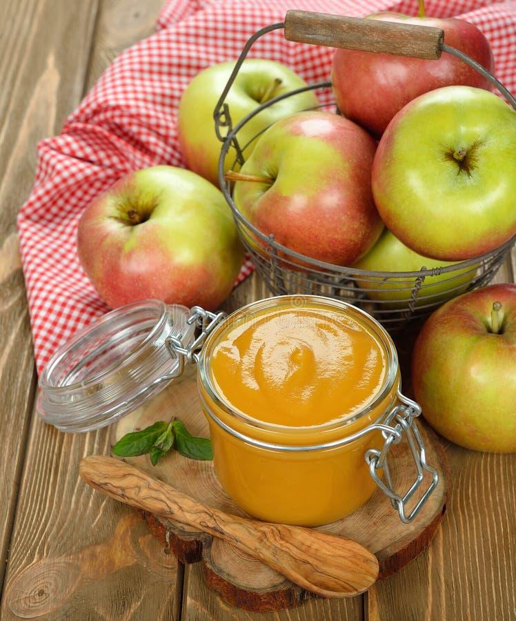 Соус Яблока стоковое фото rf