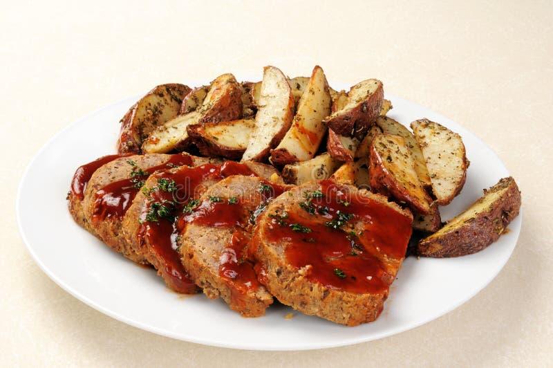 соус meatloaf стоковые фото