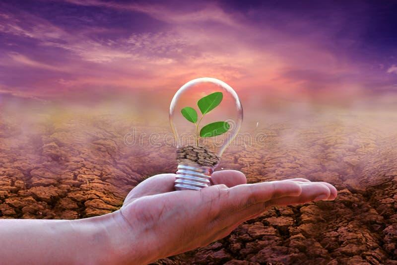 Сохраните концепцию энергии пойдите зеленый стоковые изображения rf