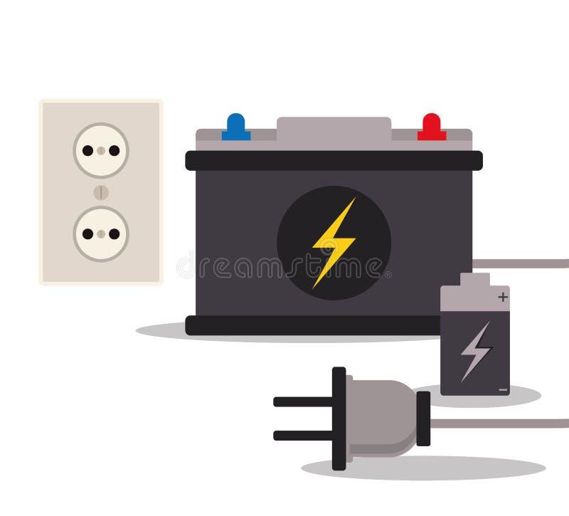 Сохраньте дизайн энергии иллюстрация штока