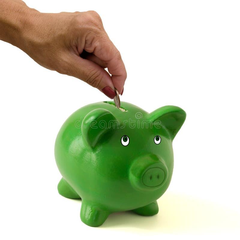 Сохранять ваши деньги стоковые фото
