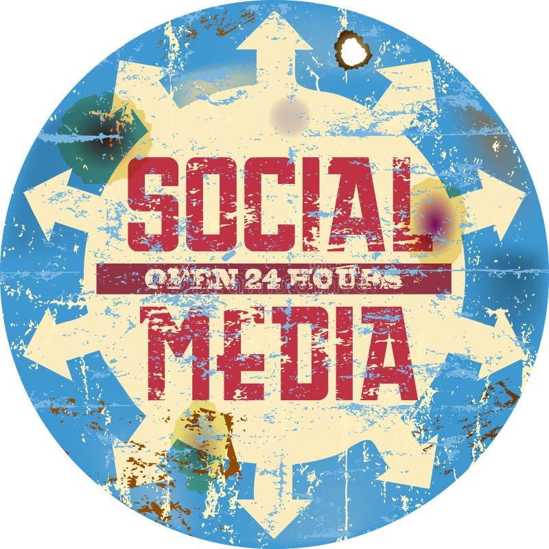 Социальные средства бесплатная иллюстрация