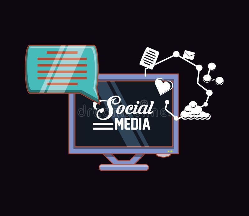 Социальный дизайн средств массовой информации бесплатная иллюстрация