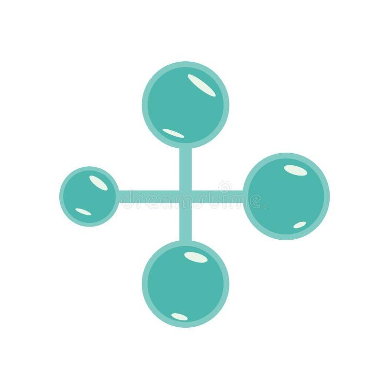 Социальный нормальные знак и символ вектора значка изолированные на задней части белизны бесплатная иллюстрация