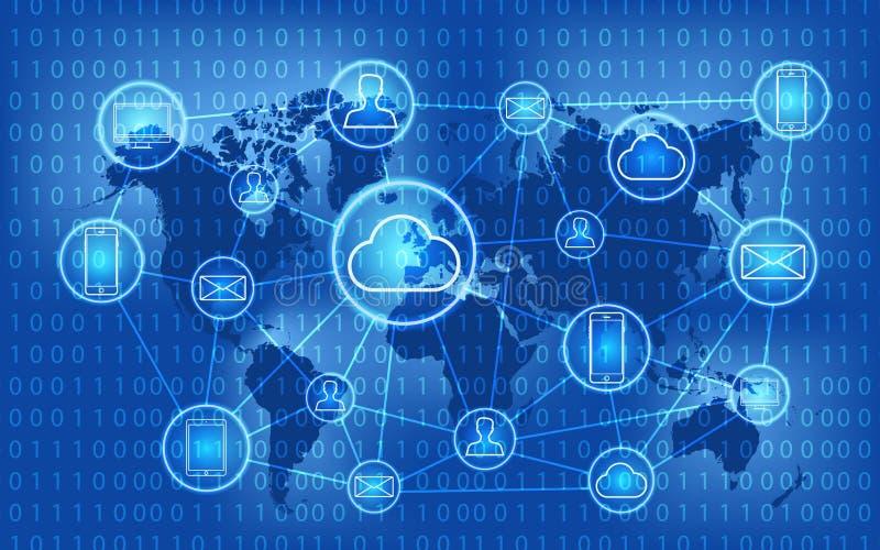 Социальная сеть, люди соединяясь во всем мире соединения принципиальной схемы chalkboard мелка дела классн классного рисуя social бесплатная иллюстрация