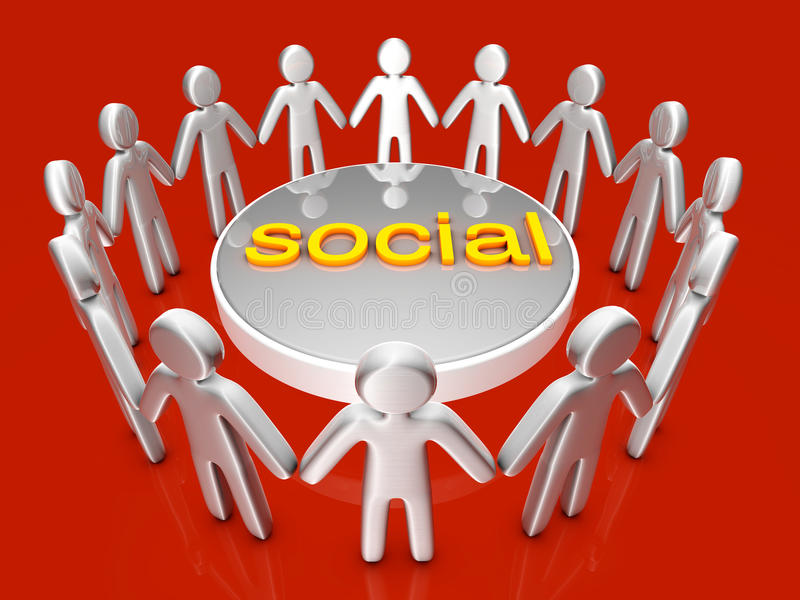 Download социально иллюстрация штока. иллюстрации насчитывающей встреча - 40584024