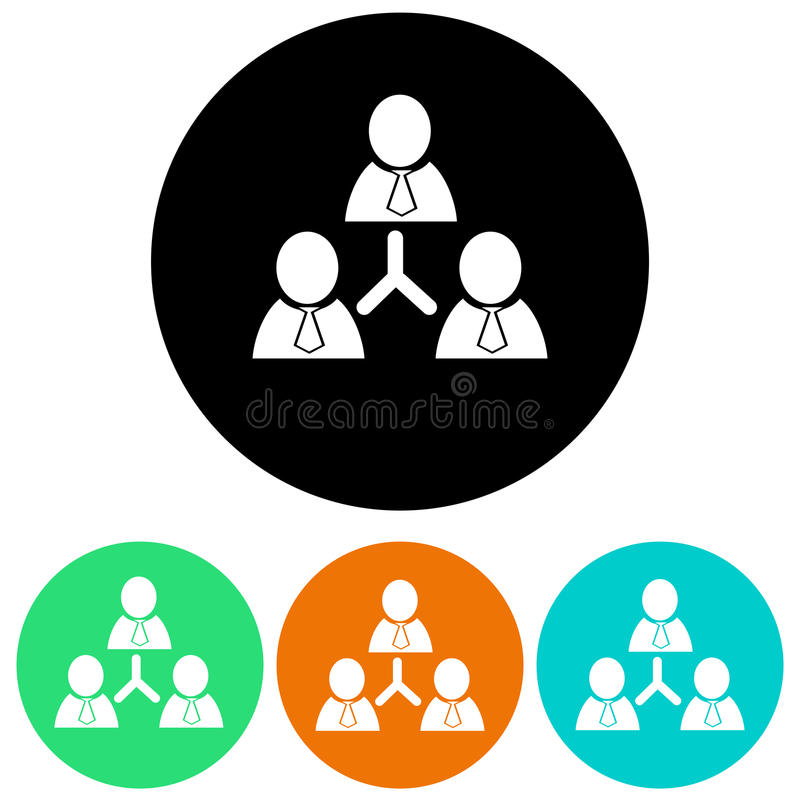 Социальные иконы сети иллюстрация вектора