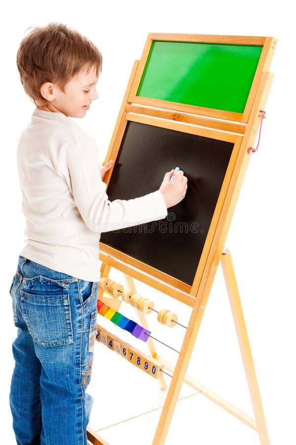 сочинительство школьника стоковые изображения