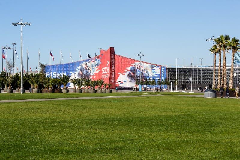 Сочи олимпийский парк Объекты и привлекательности стоковая фотография