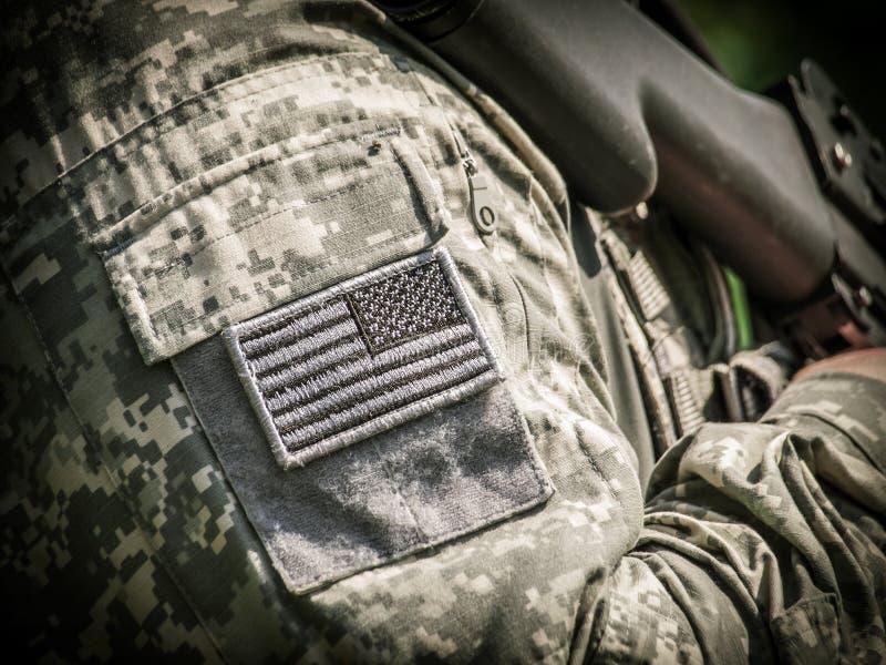 Солдат АРМИИ США стоковое изображение rf
