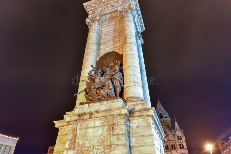 ` Солдат и ` матросов памятник стоковые изображения rf