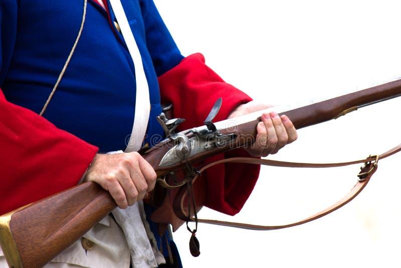 Солдат от современного столетия стоковые изображения rf