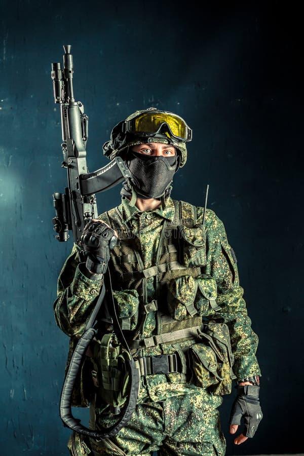Солдат сил специального назначения стоковое фото rf