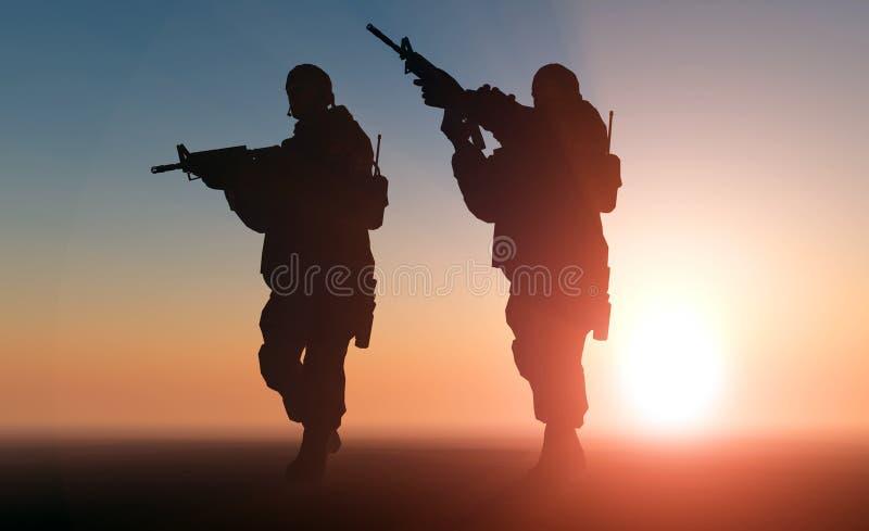 Солдат бесплатная иллюстрация