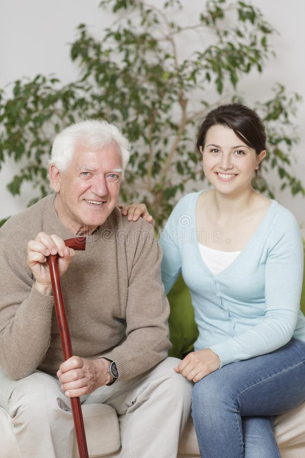Старик и внцчка