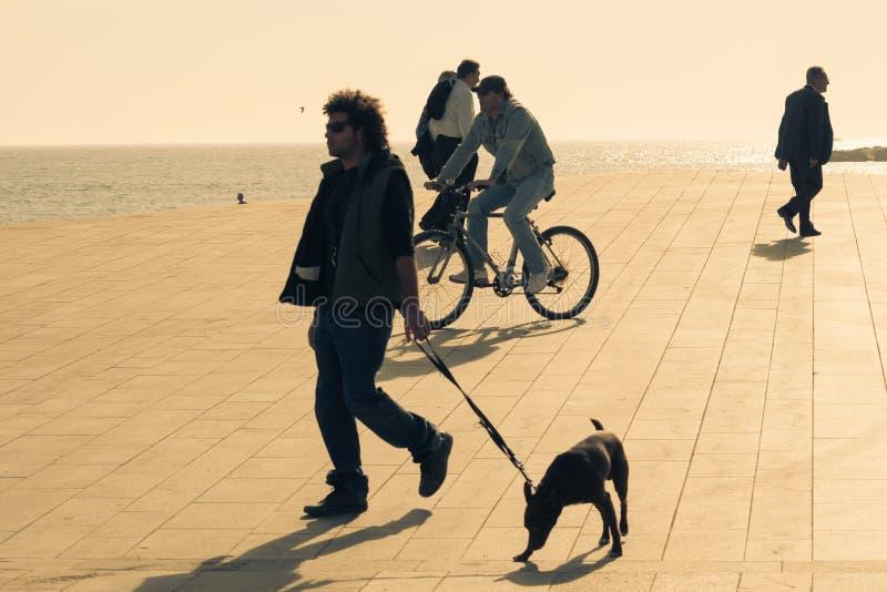 Солнечная Барселона стоковые фото