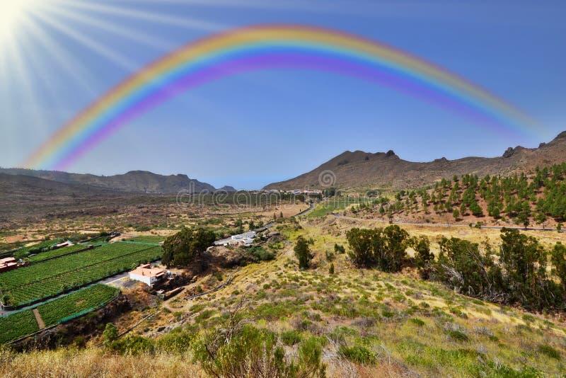 Солнечная долина стоковые фото