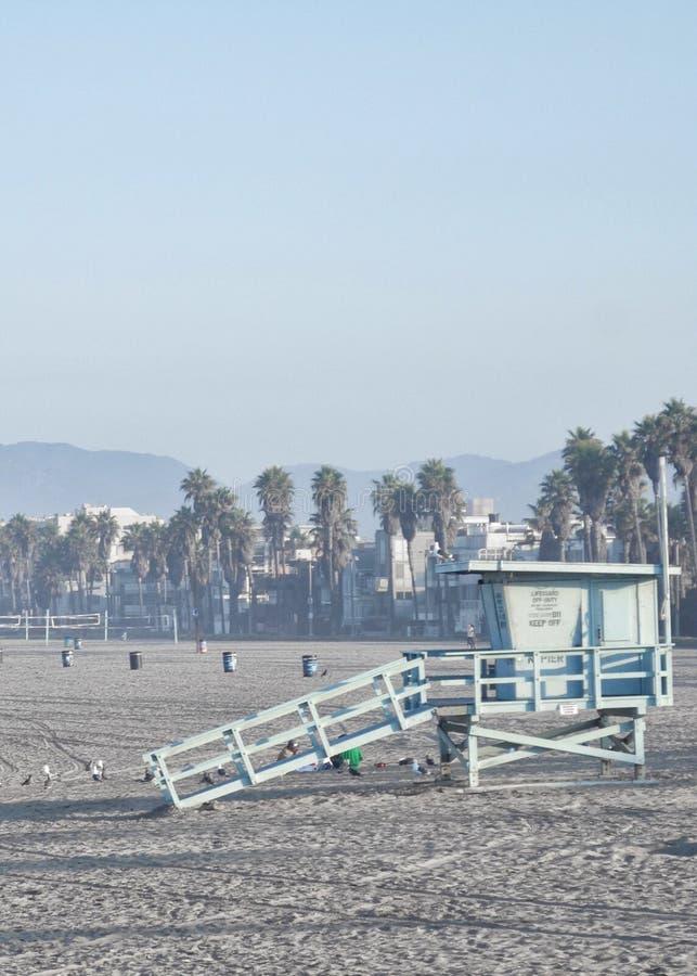 Солнечная Санта-Моника стоковая фотография rf