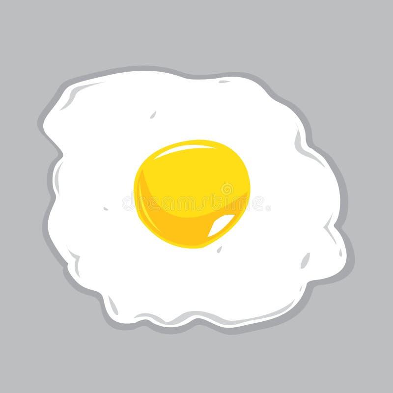 Солнечная сторона вверх по иллюстрации вектора яичка бесплатная иллюстрация