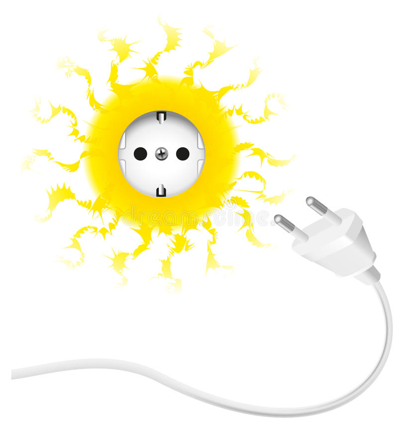 Солнечная энергия стоковое изображение