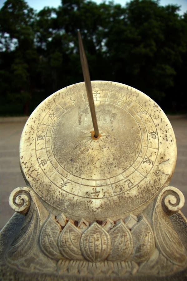 Солнечные часы стоковая фотография