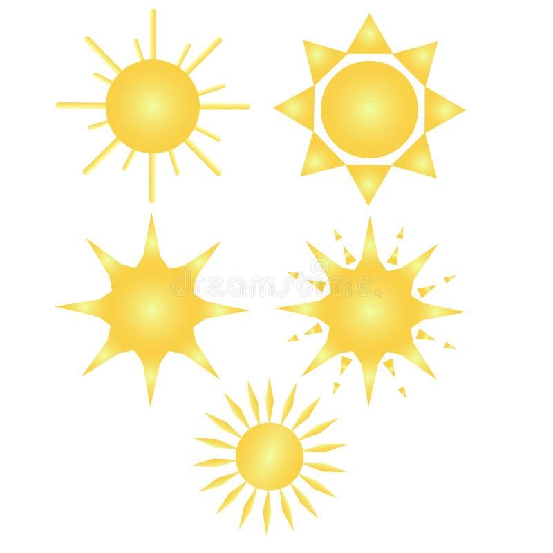Солнца Fiva стоковое фото rf