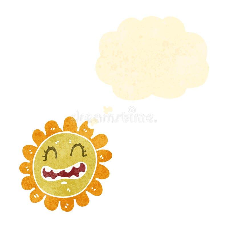 солнцецвет шаржа бесплатная иллюстрация