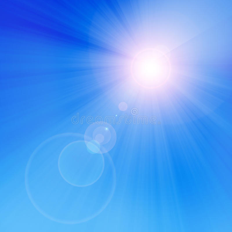 Солнце лета бесплатная иллюстрация