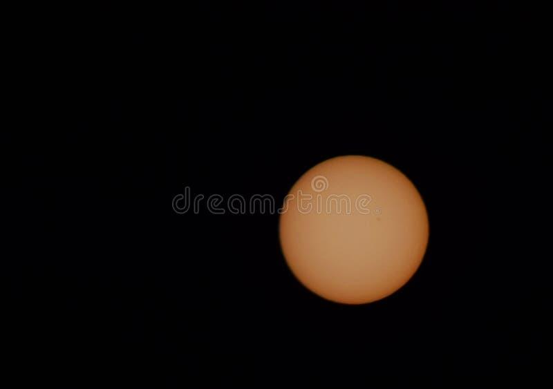 Солнце, пятно на Солнце стоковое фото rf