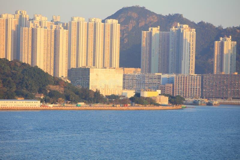 Солнце установило на схват Tsai Kwun болезненный стоковые изображения