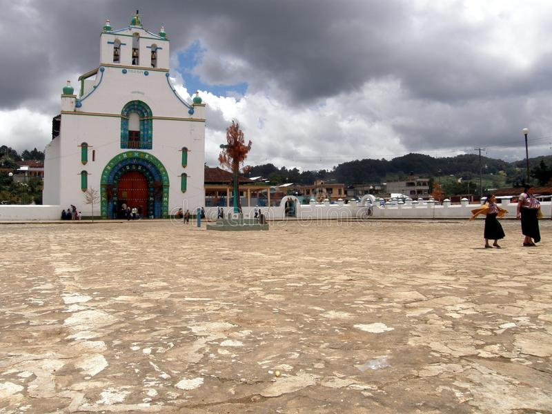 Солнце Хуан Chamula стоковое фото rf