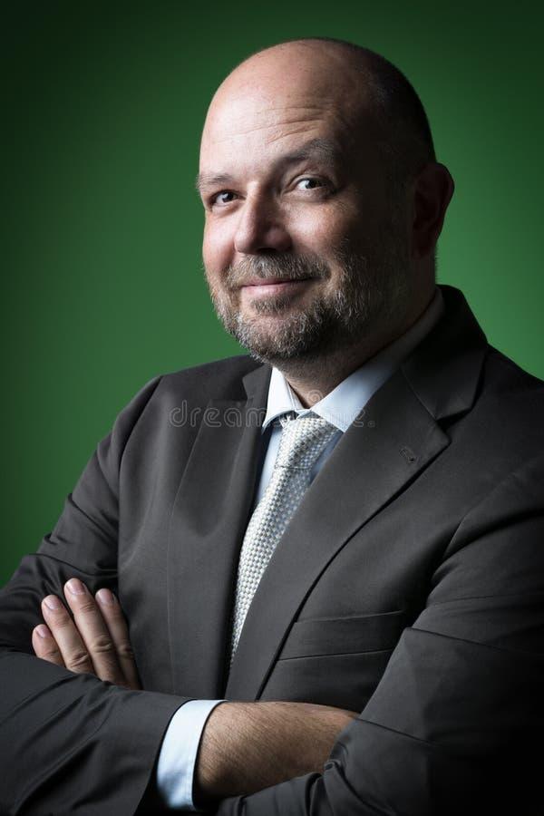 Содружественный бизнесмен стоковое изображение