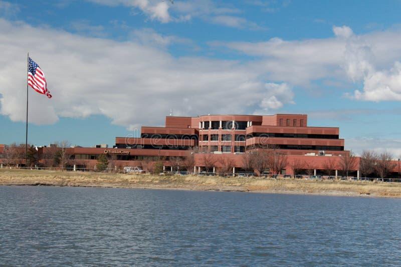 Солт-Лейк-Сити: Covey Франклина на озере палубное судно стоковое изображение rf