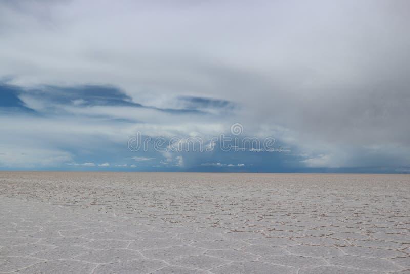 Соль Uyuni плоское стоковая фотография