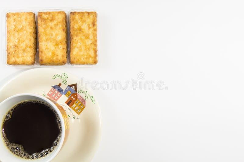 Солёные шутихи с кофе стоковые фото