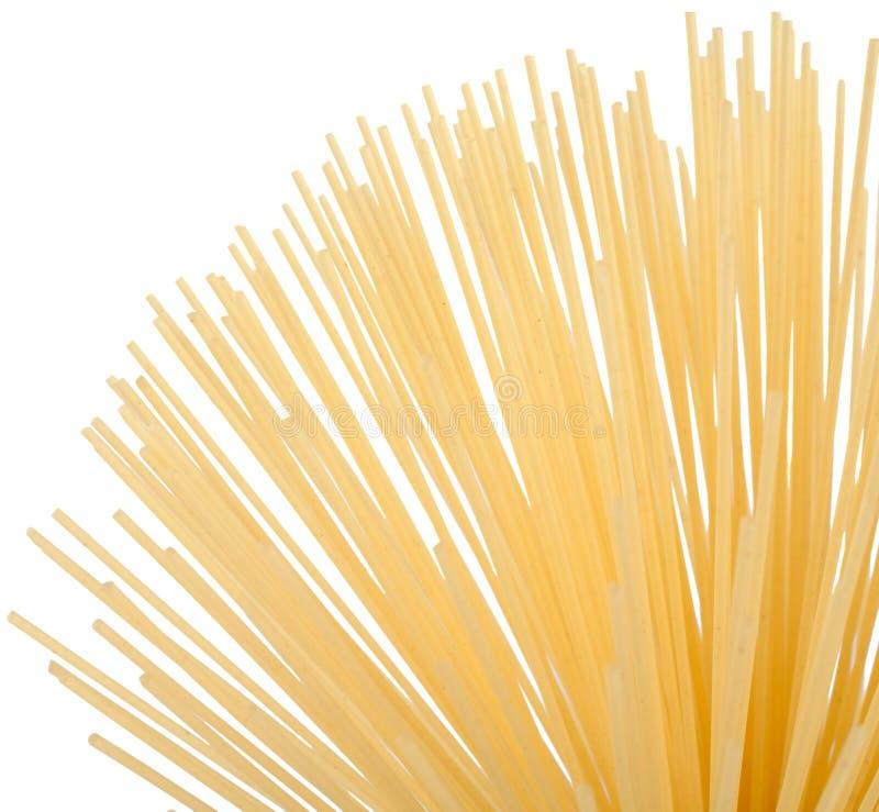спагетти макаронных изделия uncooked стоковые изображения rf