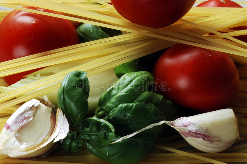 спагетти продуктов стоковые фотографии rf