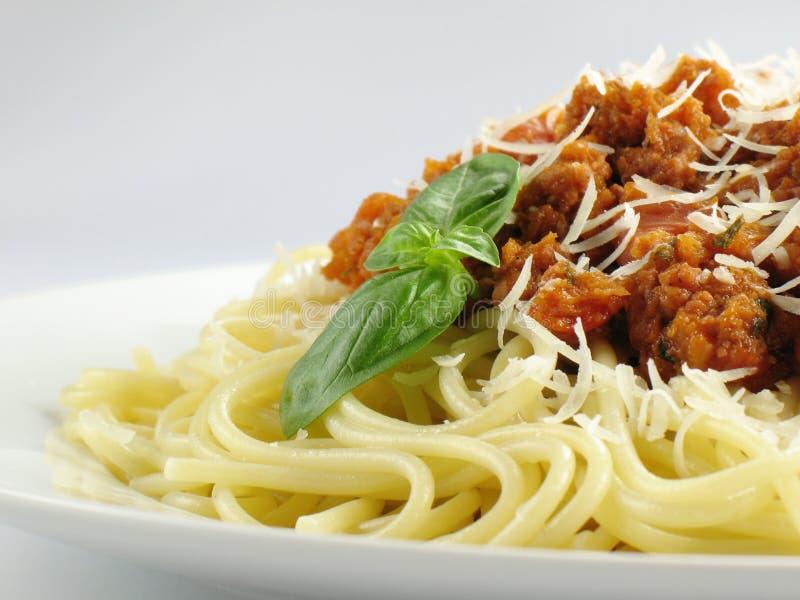 спагетти соуса стоковые изображения