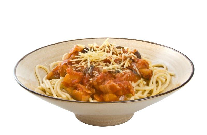 спагетти стоковые изображения